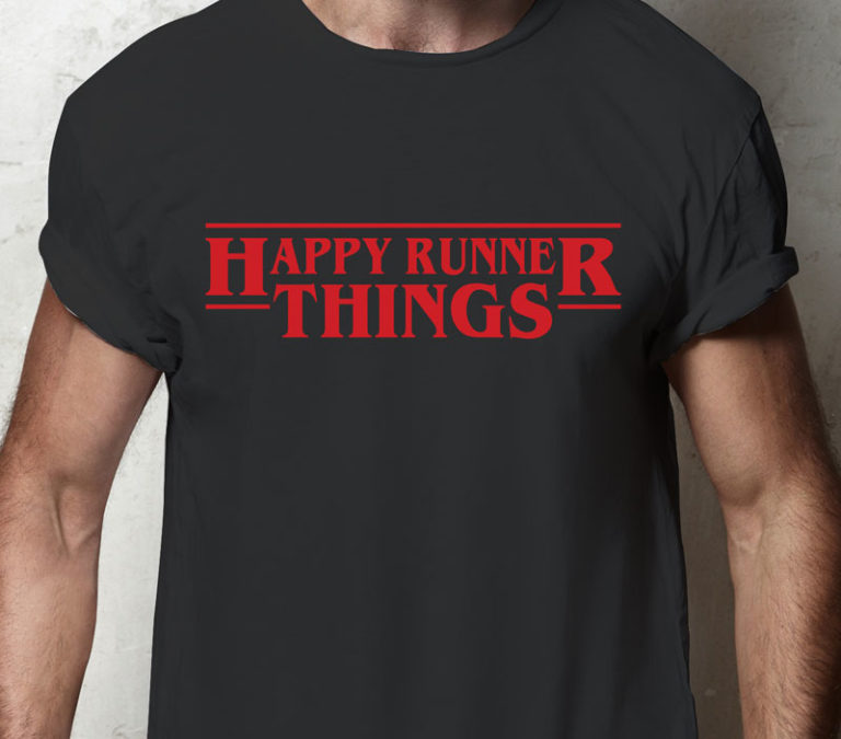 Stranger Happy Runner Things