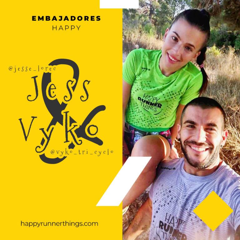 Jess & Vycko  – Embajadores Happy