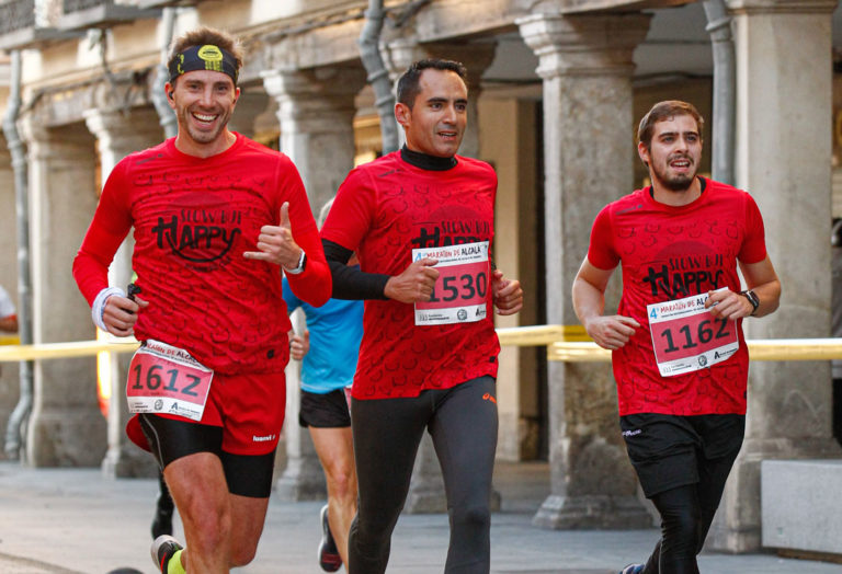 #happyRunners en el 4º Maratón Alcala 2019