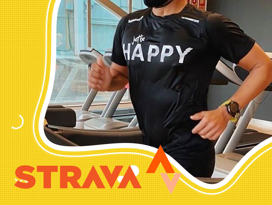 Happy on Strava